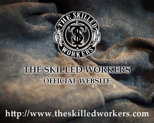 THE SKILLED WORKERS オフィシャルサイトがオープン!