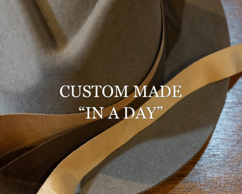 "CUSTOM MADE ""IN A DAY"""